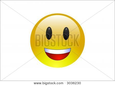 Aqua Emoticon Laughing 1