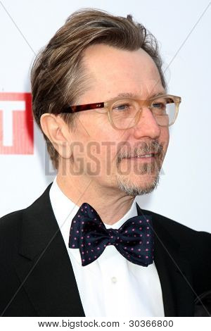 LOS ANGELES - FEB 24:  Gary Oldman arrives at the GREAT British Film Reception at the British Consul Generalâ??s Residence on February 24, 2012 in Los Angeles, CA.