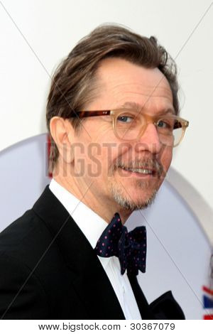 LOS ANGELES - FEB 24:  Gary Oldman arrives at the GREAT British Film Reception at the British Consul General�¢??s Residence on February 24, 2012 in Los Angeles, CA.