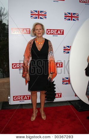 LOS ANGELES - FEB 24:  Phyllida Lloyd arrives at the GREAT British Film Reception at the British Consul General�¢??s Residence on February 24, 2012 in Los Angeles, CA.