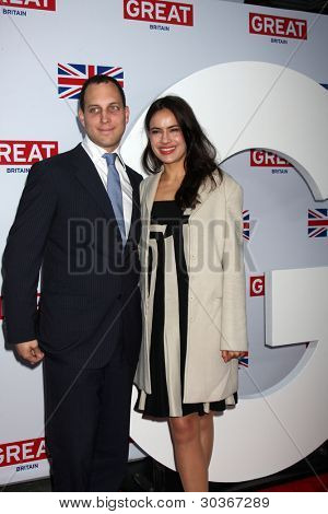 LOS ANGELES - FEB 24:  Lord Frederick Windsor, Sophie Winkleman arrives at the GREAT British Film Reception at the British Consul General�¢??s Residence on February 24, 2012 in Los Angeles, CA.