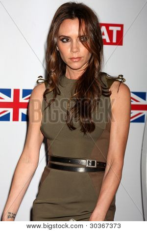LOS ANGELES - FEB 24:  Victoria Beckham arrives at the GREAT British Film Reception at the British Consul General�?�¢??s Residence on February 24, 2012 in Los Angeles, CA.