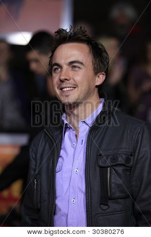 LOS ANGELES, CA - FEB 22: Frankie Muniz at the world premiere of 'John Carter' on February 22, 2012 at Regal Cinemas in downtown in Los Angeles, California