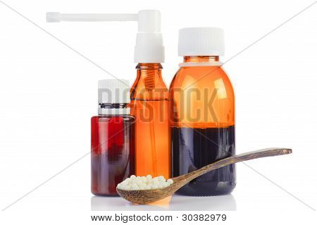 Set Of Homeopathic Medication