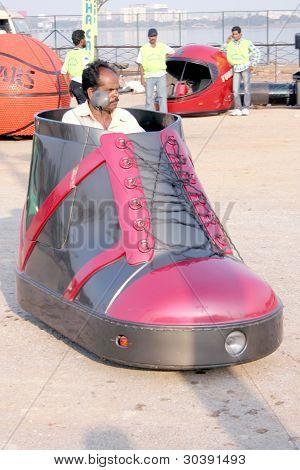 Shoe car-wacky cars