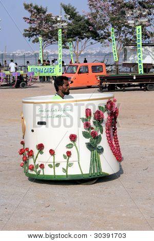 Tea Cup car-wacky cars