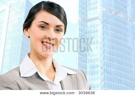 Fashion Businesswoman