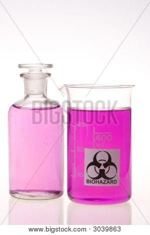 Laboratory Flask And Beaker