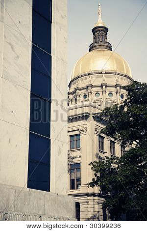 State Capitol Building In Atlanta