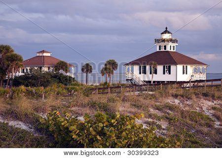 Port Boca Grande (Gasparilla Insel) Leuchtturm