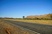 The Macdonnell Ranges, A Mountain Range Which Is Located In The Northern Territory The Range Is A  L poster