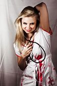 image of pervert  - Psychotic Killer Nurse - JPG