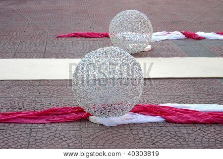Wedding Exterior Decoration