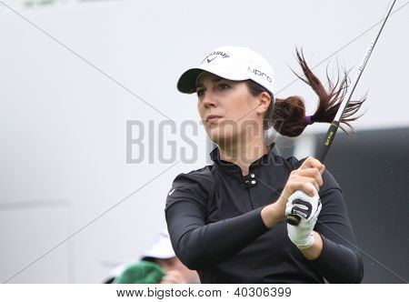 Sandra Gal (USA) at Evian Masters golf cup 2011