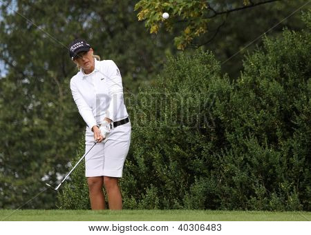 Christie Kerr (USA) at Evian Masters golf cup 2011