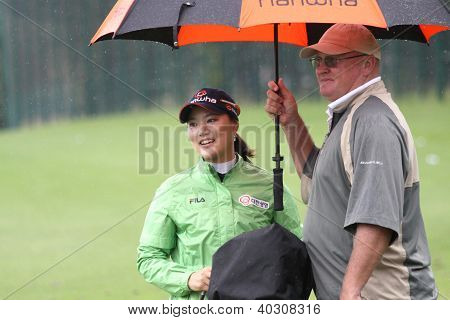 So yeon Ryu (KOR) at The Evian Masters golf tournament 2011