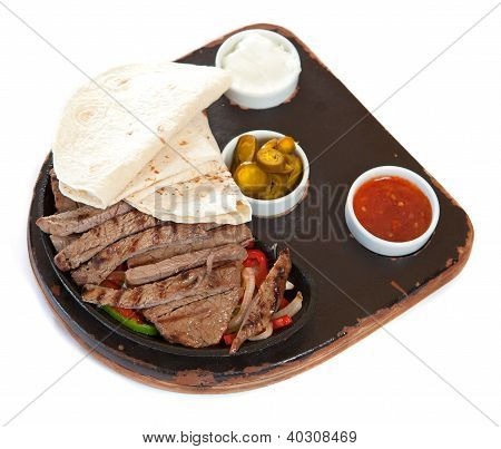Marinated Steaks and Sauces