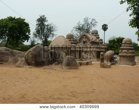The Five Rathas