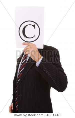 Copyright Businessman