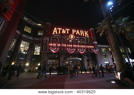 AT&T Park, Home of the San Francisco Giants