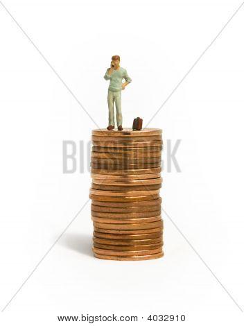 Man On Pennies