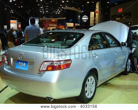 Car At Auto Show