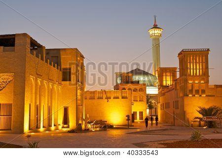 Bastakiya at Night