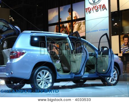 Suv Car At Auto Show