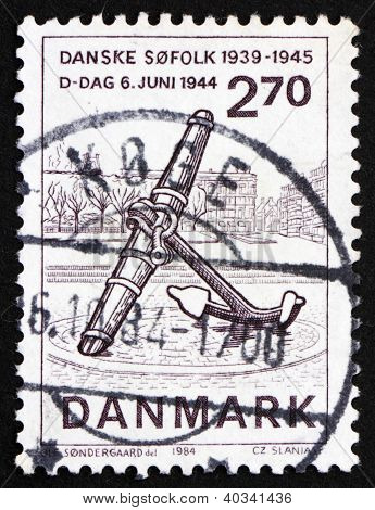 Postage stamp Denmark 1984 D Day, 40th Anniversary