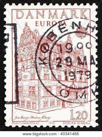 Postage stamp Denmark 1978 Jens Bang's Stone House