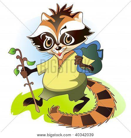 Raccoon - The Traveler