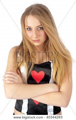 Reina bonita de corazón