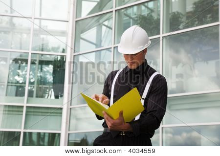 Foreman With File