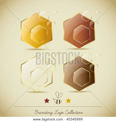 Honey Logo Collection