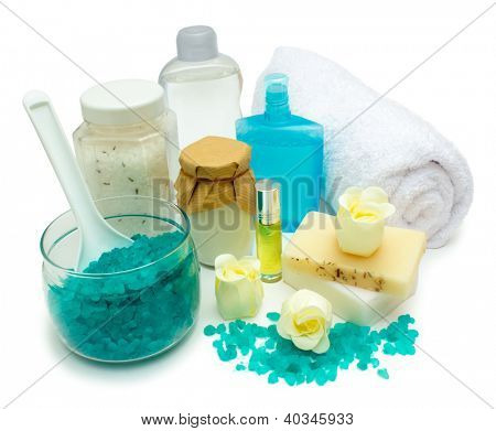 Spa and bathroom supplies
