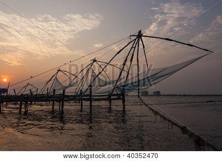 Chienese Fischernetze