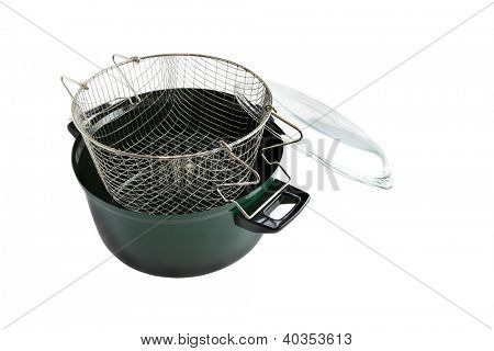 Deep fryer basket