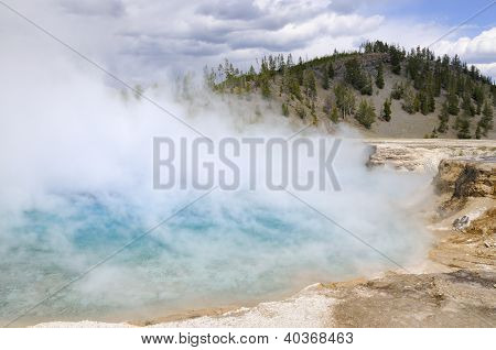 Geyser Basin - Yellowstone