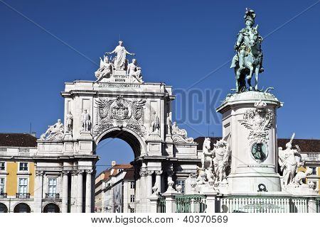 Equestrian Statue of King Jose I