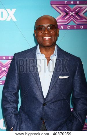 LOS ANGELES - DEC 17:  L.A. Reid at the 'X Factor' Season Finale Press Conference at CBS Television City on December 17, 2012 in Los Angeles, CA
