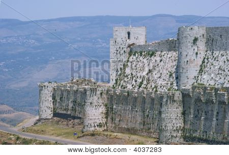 Krak Des Chevaliers, Crusaders Fortress, Syria