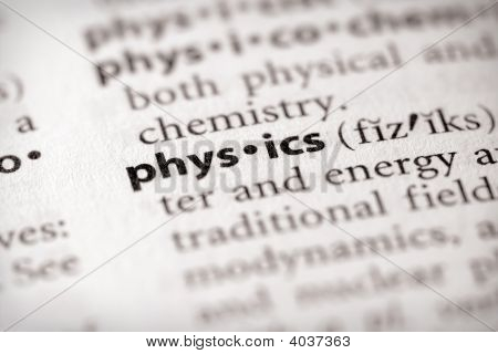 Dictionary Series - Science: Physics