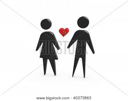 Broken Love Divorce