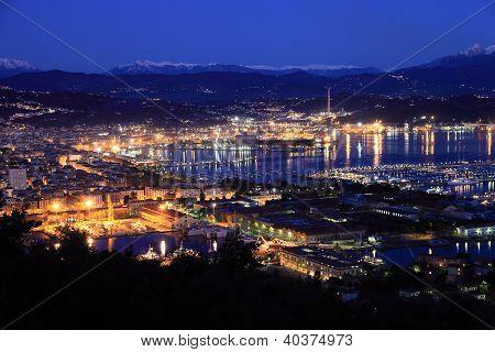 La Spezia on the Ligurian Coast, Italy