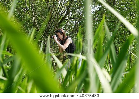 Naturalist Woman Photographer