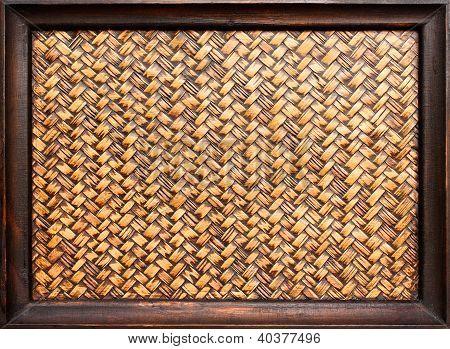 The Woven Bamboo Frame
