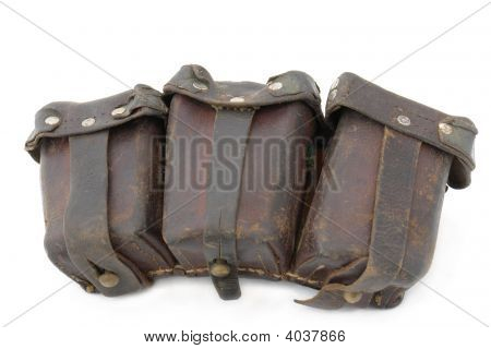 Ammunition Bag To German Mauser Rifle
