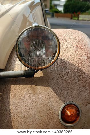 Vintage Car Closeup
