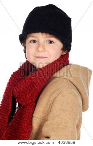 Adorable Boy Dress For The Winter