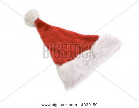 Top View Of Santa Claus Hat